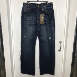NWT Ed Hardy Distressed Tiger Pocket Jeans